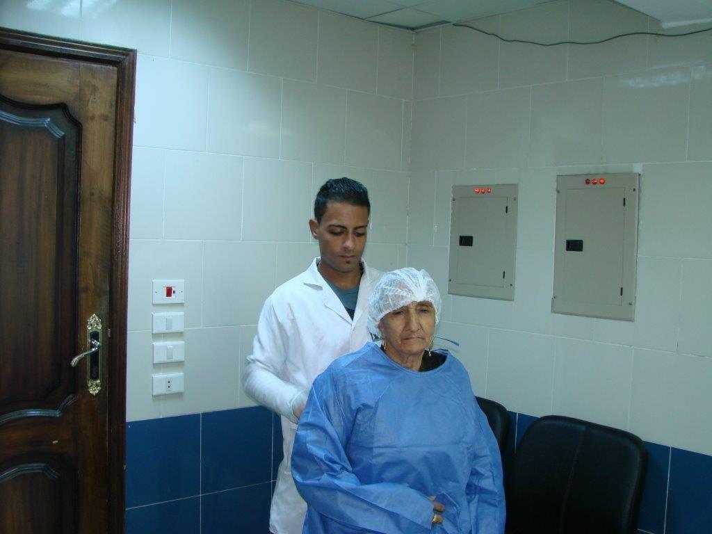 انجازات شهر أكتوبر لمستشفى حورس  2015