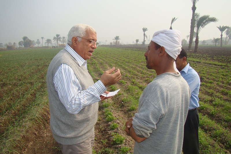 إنجازات برنامج الزراعة لشهر مارس 2016