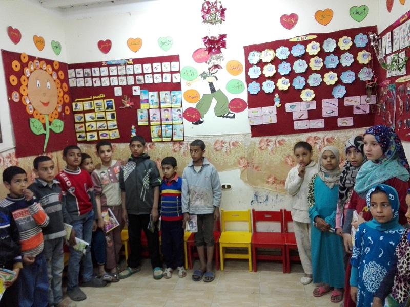 إنجازات برنامج التعليم لشهر مارس  2016