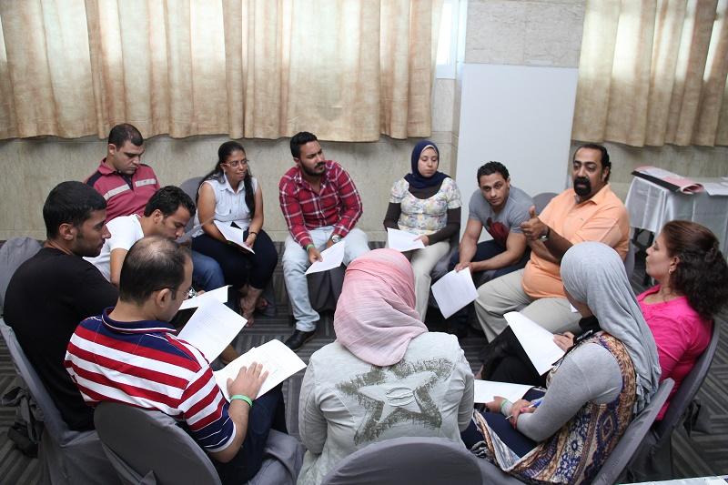 القيادات الشبابية تتبنى قضايا الحوار والمواطنة