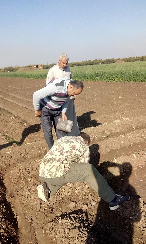 إنجازات برنامج الزراعة لشهر سبتمبر 2016