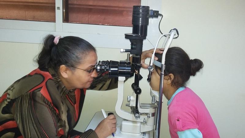 إنجازات برنامج الصحة والعيون لشهر نوفمبر 2016