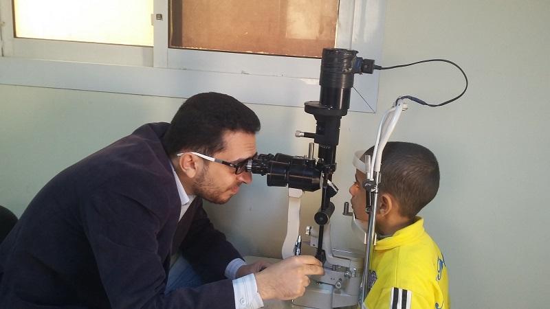 إنجازات مستشفى حورس للعيون يناير 2017