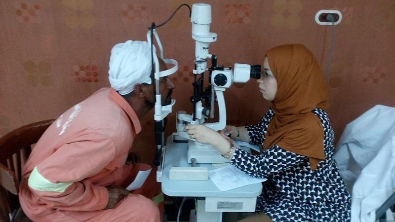 إنجازات برنامج الصحة والعيون لشهر مايو 2016