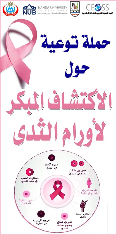 ختام حملة أورام الثدي في بني سويف