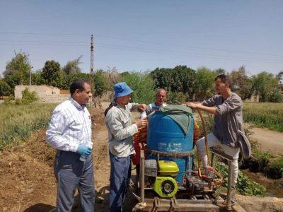 ازمة السيول تدخلات مع المزارعين لحماية الزراعةازمة السيول 1